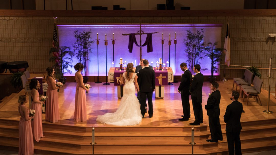 Worship Center Wedding